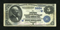 National Bank Notes:Colorado, Sterling, CO - $5 1882 Date Back Fr. 537 The First NB Ch. #(W)5624. ...