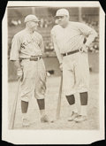 """Baseball Collectibles:Photos, Babe Ruth and Rogers Hornsby Culver Pictures Archive Photograph (5""""x7""""). ..."""