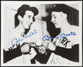"""Autographs:Photos, Mickey Mantle And Billy Martin Dual Signed 8"""" x 10"""" Photograph. ..."""