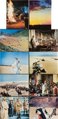 "Movie Posters:War, Lawrence of Arabia (Columbia, 1962). Deluxe Lobby Cards (10) (10"" X13"").. ... (Total: 10 Items)"