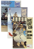 Modern Age (1980-Present):Miscellaneous, Lone Wolf and Cub #1-4 and 6 Group (First Comics, 1987) Condition: Average NM+.... (Total: 5 Comic Books)