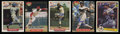 Basketball Cards:Lots, Baseball Greats Signed Card Collection (5). ...