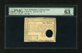 Colonial Notes:New Hampshire, New Hampshire April 29, 1780 $1 PMG Choice Uncirculated 63 EPQ....