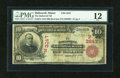 National Bank Notes:Maine, Hallowell, ME - $10 1902 Red Seal Fr. 613 The Hallowell NB Ch. #(N)3247. ...