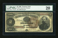 Large Size:Treasury Notes, Fr. 354 $2 1890 Treasury Note PMG Very Fine 20....