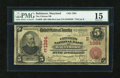 National Bank Notes:Maryland, Baltimore, MD - $5 1902 Red Seal Fr. 587 The Citizens NB Ch. #(E)1384. ...