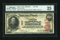 National Bank Notes:Missouri, Saint Louis, MO - $100 1902 Red Seal Fr. 686 The Fourth NB Ch. #(M)283. ...