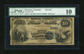 National Bank Notes:Colorado, Florence, CO - $10 1882 Value Back Fr. 577 The First NB Ch. #(W)5381. ...