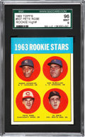 Baseball Cards:Singles (1960-1969), 1963 Topps Pete Rose #537 SGC 96 Mint 9. ...