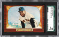 Baseball Cards:Singles (1950-1959), 1955 Bowman Willie Mays #184 SGC 88 NM/MT 8....