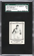 Boxing Cards:General, 1926 Sports Co. of America Jack Dempsey SGC 84 NM 7....