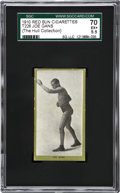 Boxing Cards:General, 1910 T226 Red Sun Joe Gans SGC 70 EX+ 5.5 - The Only Graded Example!...
