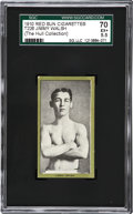 Boxing Cards:General, 1910 T226 Red Sun Jimmy Walsh SGC 70 EX+ 5.5....