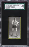 Boxing Cards:General, 1910 T226 Red Sun Unk Russell SGC 80 EX/NM 6....