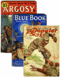 Pulps:Adventure, Assorted Adventure Pulps Group (Various Publishers, 1910-37) Condition: Average GD/VG.... (Total: 26 Comic Books)