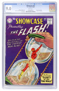Silver Age (1956-1969):Superhero, Showcase #14 The Flash (DC, 1958) CGC VF/NM 9.0 White pages....