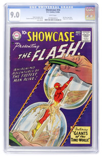 Showcase #14 The Flash (DC, 1958) CGC VF/NM 9.0 White pages