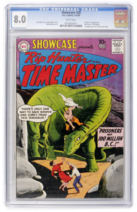 Showcase #20 Rip Hunter Time Master (DC, 1959) CGC VF 8.0 White pages