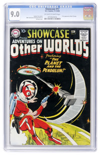 Showcase #17 Adventures on Other Worlds (DC, 1958) CGC VF/NM 9.0 Off-white to white pages