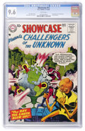 Silver Age (1956-1969):Superhero, Showcase #11 Challengers of the Unknown (DC, 1957) CGC NM+ 9.6 White pages....