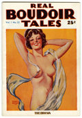 Pulps:Romance, Real Boudoir Tales V1#22 (Burnham Company, 1935) Condition: FN+....