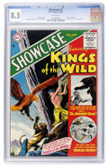 Silver Age (1956-1969):Superhero, Showcase #2 Kings of the Wild (DC, 1956) CGC VF+ 8.5 White pages....