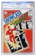 Silver Age (1956-1969):Superhero, Showcase #4 The Flash (DC, 1956) CGC NM+ 9.6 White pages....