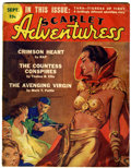Pulps:Adventure, Scarlet Adventuress - September 1936 (Associated Authors, 1936) Condition: GD/VG....