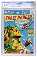 Silver Age (1956-1969):Science Fiction, Showcase #16 The Space Ranger (DC, 1958) CGC VF/NM 9.0 Whitepages....