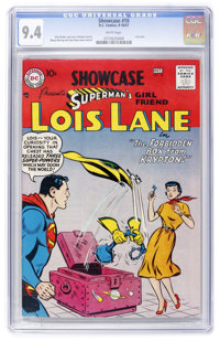 Showcase #10 Lois Lane (DC, 1957) CGC NM 9.4 White pages