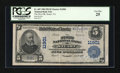 National Bank Notes:Virginia, Stuart, VA - $5 1902 Plain Back Fr. 607 The First NB Ch. # 11901....