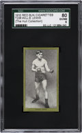 Boxing Cards:General, 1910 T226 Red Sun Willie Lewis SGC 80 EX/NM 6....