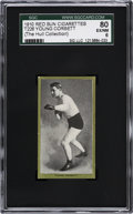 Boxing Cards:General, 1910 T226 Red Sun Young Corbett SGC 80 EX/NM 6....