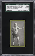 "Boxing Cards:General, 1910 T226 Red Sun Mike ""Twin"" Sullivan SGC 80 EX/NM 6...."