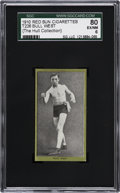 Boxing Cards:General, 1910 T226 Red Sun Bull West SGC 80 EX/NM 6....