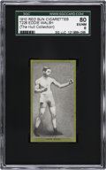 Boxing Cards:General, 1910 T226 Red Sun Eddie Walsh SGC 80 EX/NM 6....