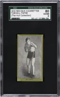 Boxing Cards:General, 1910 T226 Red Sun Bill Papke SGC 80 EX/NM 6....