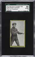 Boxing Cards:General, 1910 T226 Red Sun Mickey Gannon SGC 80 EX/NM 6 - Only exampleGraded!...