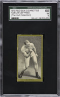 Boxing Cards:General, 1910 T226 Red Sun Jim Jeffries SGC 60 EX 5. ...
