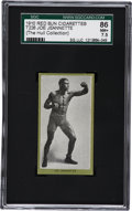 Boxing Cards:General, 1910 T226 Red Sun Joe Jeanette SGC 86 NM+ 7.5....