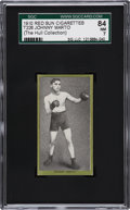 Boxing Cards:General, 1910 T226 Red Sun Johnny Marto SGC 84 NM 7....