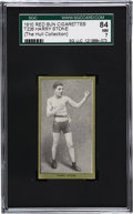 Boxing Cards:General, 1910 T226 Red Sun Harry Stone SGC 84 NM 7....