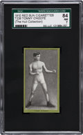 Boxing Cards:General, 1910 T226 Red Sun Tommy O'Keefe SGC 84 NM 7....