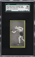 Boxing Cards:General, 1910 T226 Red Sun Battling Dick Nelson SGC 80 EX/NM 6....