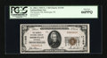 National Bank Notes:Wisconsin, Sheboygan, WI - $20 1929 Ty. 1 The Security NB Ch. # 11150. ...