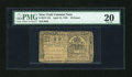 Colonial Notes:New York, New York April 15, 1758 £10 PMG Very Fine 20....