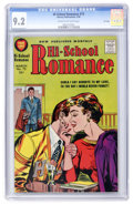 Silver Age (1956-1969):Romance, Hi-School Romance #73 File Copy (Harvey, 1958) CGC NM- 9.2 Cream tooff- white pages....