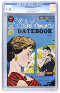 Silver Age (1956-1969):Romance, Hi-School Romance Datebook #1 File Copy (Harvey, 1962) CGC NM 9.4Off-white to white pages....