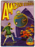 Pulps:Science Fiction, Amazing Stories V3#12 (Ziff-Davis, 1929) Condition: GD/VG....