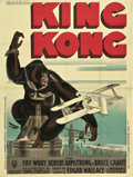 "Movie Posters:Horror, King Kong (RKO, 1933). French Grande (47"" X 63"").. ..."